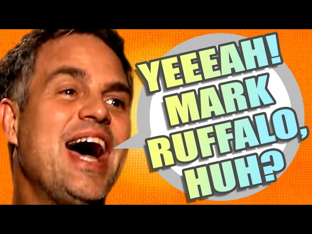 YEEEAH! MARK RUFFALO, HUH | PSYCHOTIC DEMENTED DANCING MEME by Aldo Jones