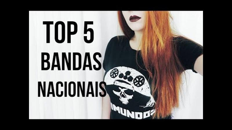 5 BANDAS NACIONAIS DE ROCK/METAL QUE VOCÊS PRECISAM AMAR TAMBÉM LizTodoDia