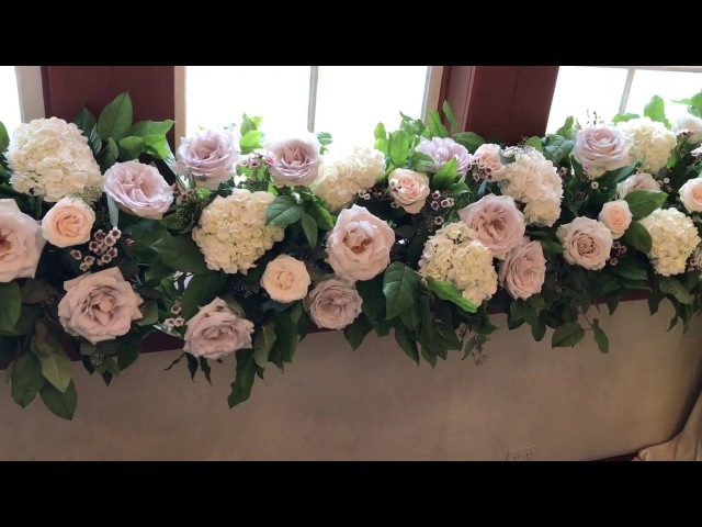 Flower Moxie- DIY Floral Runner