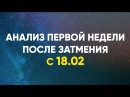 Анализ Первой Недели после затмения с 18.02