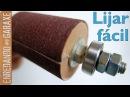 Tambor de lijado para taladro de columna
