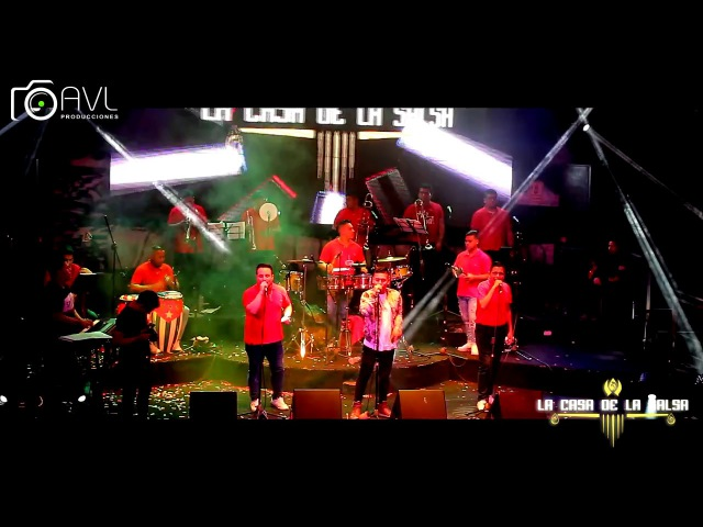 Amor De Lujo - César Vega Y Orquesta - La Casa De La Salsa 2017