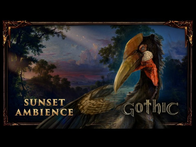 Peaceful Nature Ambience - Gothic 1   Forest Sounds - Bird Song (No Music)