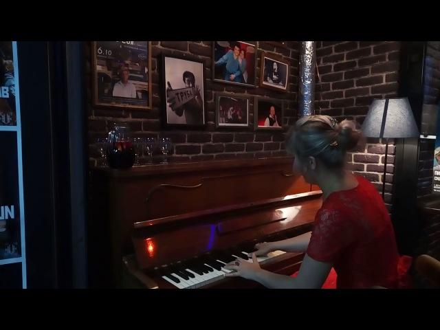 Valentina Solozhentseva, piano. Song o The Secret Garden. Jazz club.