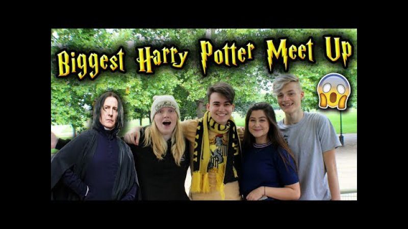 HUGE HARRY POTTER MEET UP! *INSANE* (Ft. Seamus Gorman, WiseHufflepuff LaurasAlwaysPottering