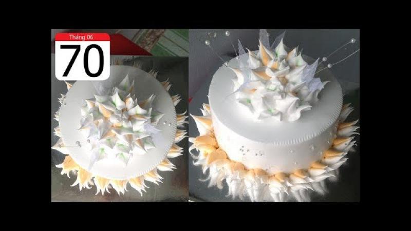Cách Làm Bánh Kem Đơn Giản Đẹp ( 70 ) Cake Icing Tutorials Buttercream ( 70 )