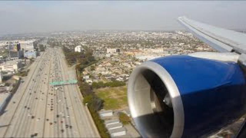 British Airways Flight BA 283 (LHR-LAX) Landing in Los Angeles (G-STBE)