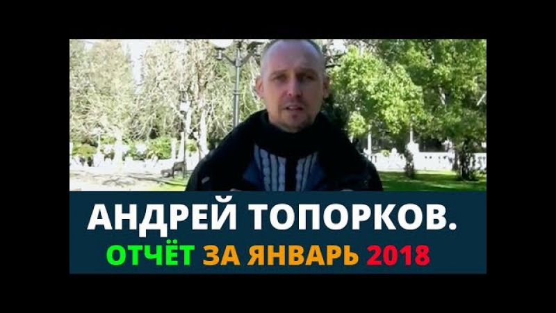 Андрей Топорков Отчёт за январь Возрождённый СССР Сегодня