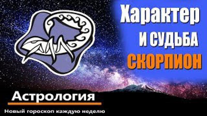 Характер и судьба Скорпион. Астрология