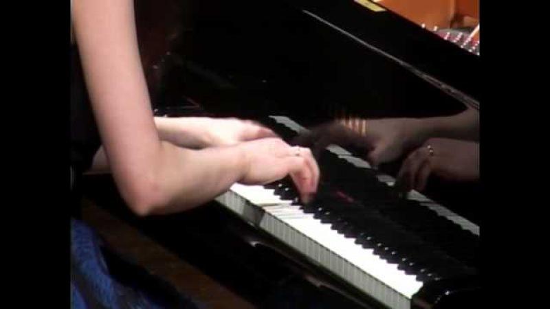 (22) J.Brahms, Paganini Variations Op.35 (book I). Ilona Timchenko, piano.