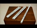 How to make a tin whistle in 5 easy steps High D