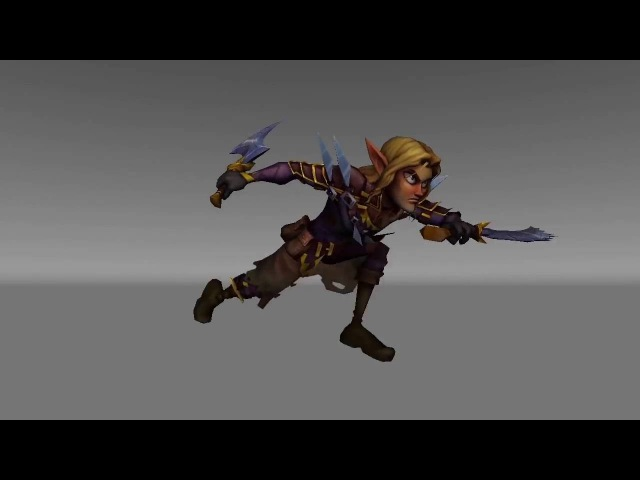 Jimm Pegan Game animation reel 2016