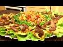 Салат с мясом и лавашем ПРОСТО ОБЪЕДЕНИЕ