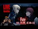 [Vezaks: реакция ] Моменты персонажей, значит. Fate/Stay Night UBW - 1 сезон 10-11 серии *redirect*