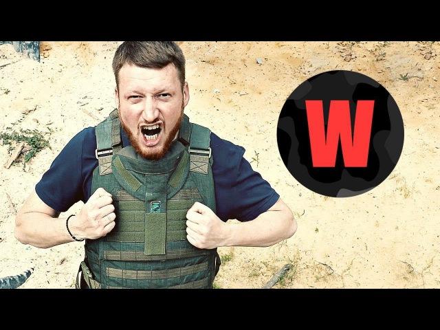 Испытания пистолета «Оплот» с главой ДНР. Проект WarGonzo 1