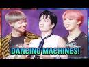 Taemin (SHINee) Kai (EXO) Jimin (BTS) - DANCING MACHINES 2017 (INTERACTIONS)