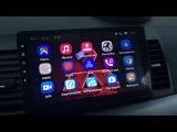 Обзор на магнитолу Ghogath Android 6.1 Mitsubishi Lancer x