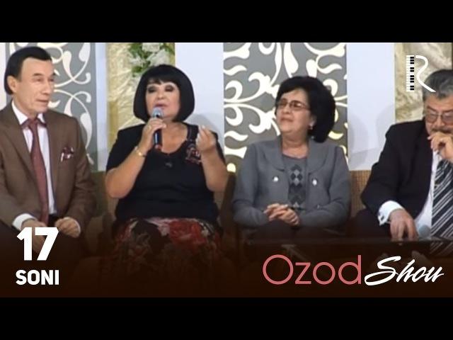MUVAD VIDEO - Ozod SHOU 17-soni | Озод ШОУ 17-сони