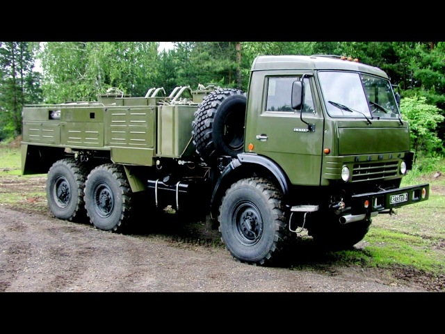 АРС 14КМ на шасси КамАЗ 43114