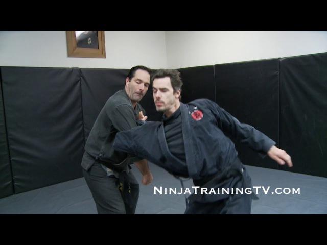 Gyaku Nage Osae Komi from Shinden Fudo Ryu for Bujinkan Ninjutsu Training