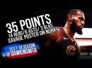 LeBron James Full Highlights 2018.3.15 Cavs at Blazers - 35 Pts, SAVAGE Dunk On Nurk!   FreeDawkins