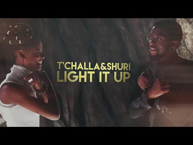 TChalla Shuri | Light It Up