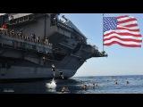 Crazy! U.S. Navy Skip from aircraft carrier USS John C Stennis