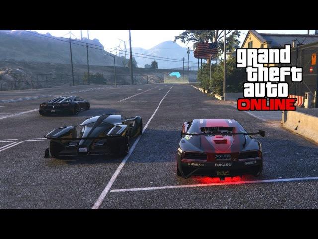 Самая короткая трасса гонки GTA 5 online NoDo