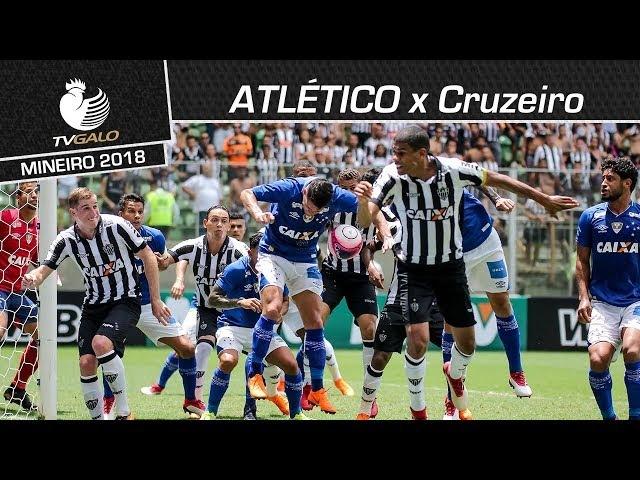 Atlético desperdiça boas chances e perde clássico por 1 a 0 (04/03/2018)