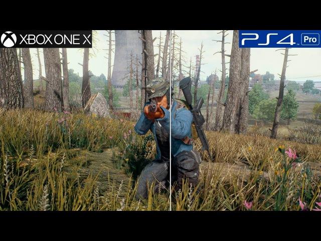PUBG - Comparação GRÁFICA Xbox One vs Ps4