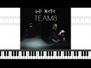 Loïc Nottet Team8 Piano Sheet Music Lyrics Chords