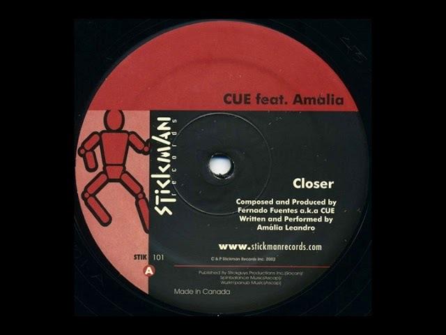 Cue, DJ Amalia - Closer feat. Amalia (Original Mix)