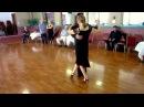 Argentine Tango Figure with Slow Motion Multiple Sacadas Barrida, Triple Ganchos 9/6/2015