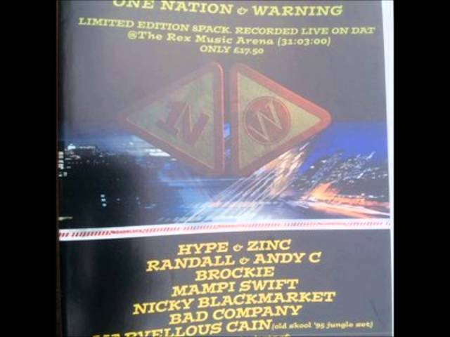 Mampi Swift with Fearless, Skibadee Shabba D- One Nation Warning 2000
