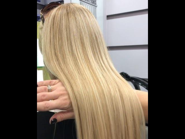 Окрашивание волос - Блонд. Kriss Triane