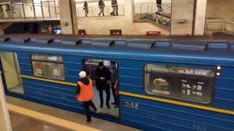 Голый мужик в метро - Декабрь