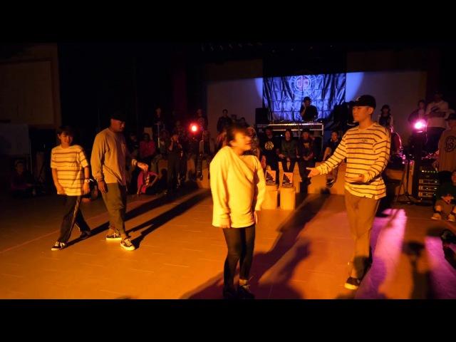 HOAN yu-ki.☆ vs JIMMY MAiKA FINAL POP SDCJ 2017 Street Dance Camp Japan