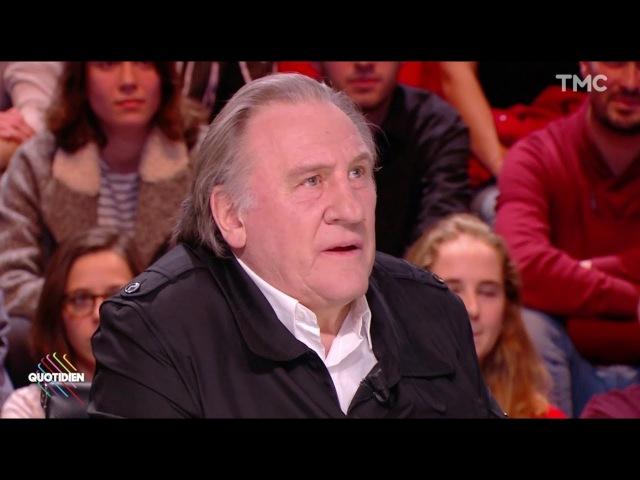 Depardieu : Elle va en chier Laetitia Hallyday (Quotidien) - ZAPPING TÉLÉ DU 14/02/2018