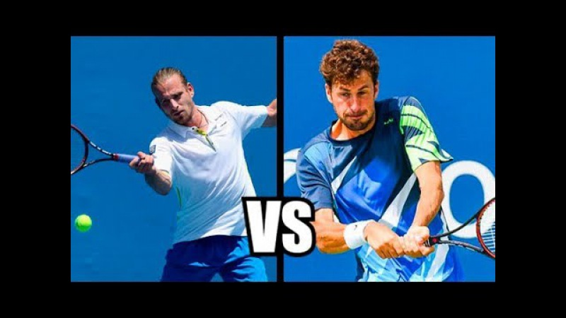 Peter Gojowczyk vs Robin Haase - Auckland 2018 Highlights HD