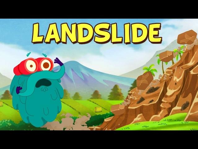 LANDSLIDE The Dr. Binocs Show Best Learning Videos For Kids Peekaboo Kidz