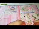 Шьем вместе органайзер для вышивки Розовый прованс 1 часть