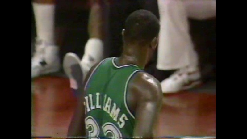 Michael Jordan 1989 41 points vs Mavs