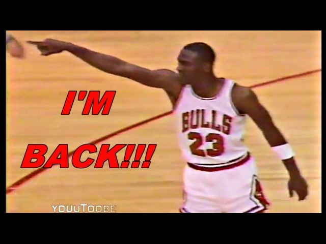 How a G.O.A.T Returns Back The NBA After Broken Foot? - Michael Jordan