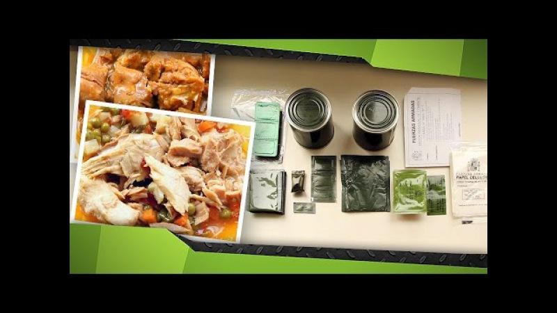 Испанский ИРП А-5 (обед) Деревенский салат с тунцом и постная свининка