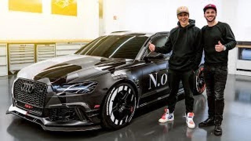 Jon Olsson's ABT Audi RS6 Jetzt knallt's richtig Daniel Abt