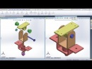SolidWorks Exploded View Tutorial Complete with Animation Video and Line Sketch