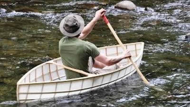8 Pound Canoe Build