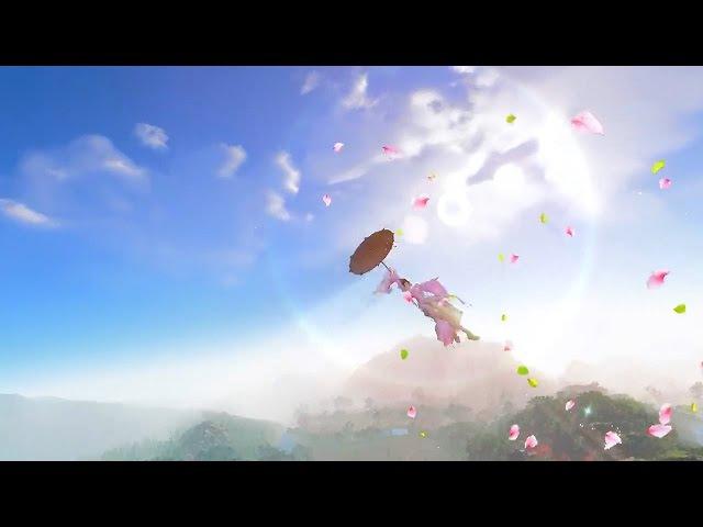 Moonlight Blade Online 天涯明月刀.ol - Official All Flying Class New Version Trailer