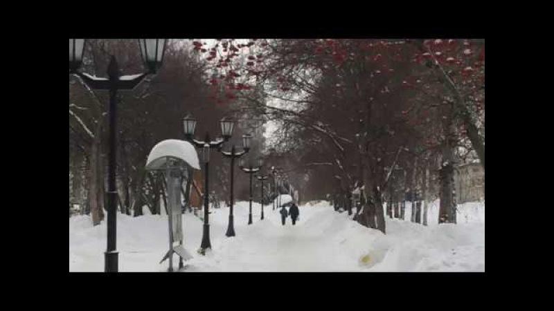 В Новосибирске закончились морозы. Прогулка по парку и обращение к зрителям.