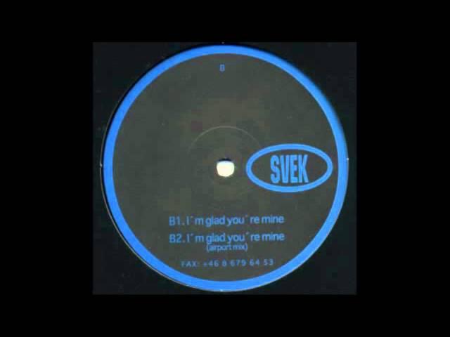 Stephan Grieder The Persuader - I'm Glad You're Mine [Svek, 1998]
